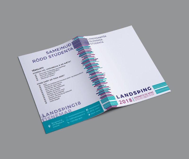 Landsþing 2018 Handbook